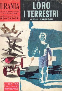 279  LORO I TERRESTRI 8/4/1962  TWILIGHT WORLD (1961)  Copertina di  Karel Thole   POUL ANDERSON