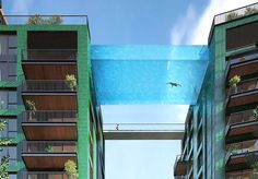 Glass-bottomed sky pool will be suspended 115 feet in the air | Inhabitat - Sustainable Design Innovation, Eco Architecture, Green Building