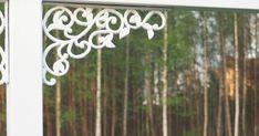 Vihdoinkin! Viime kesänä Villejä Lupiineja -blogin Marita oli rakentanut kauniin pyykinkuivaustelineen, jollaisen halusin oitis myös mei...