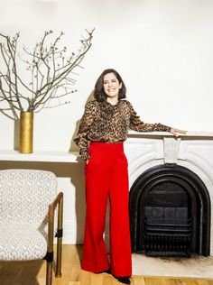 Nate Berkus Associates Partner Lauren Buxbaum Gordon is featured in House Beautiful magazine Next Wave. Behind Every Great Man, Love Is Gone, Red Leopard, What Should I Wear, Nate Berkus, Eye For Detail, Furniture Market, Fashion Wear, Girl Boss