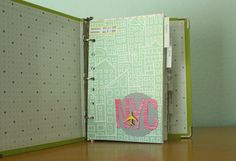 Travel Binder: I would totally make this, being as obsessed with organizing and planning as I am.