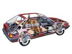 1983-87 Alfa Romeo Arna SL (902) - Illustrated by Bruno Betti