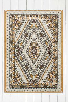 Tapis Adana à motif mosaïque en losanges 5x7 - Urban Outfitters