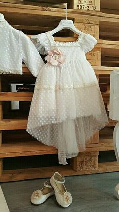 Christening; romantic; dress;