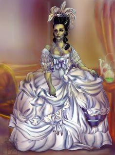 bride of frankenstein artwork deviant | The Bride of Frankenstein by squidlydes