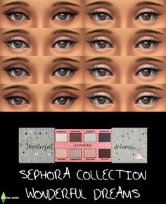 (UNISEX) Sephora Collection Wondeful Dreams Palette for TS4!