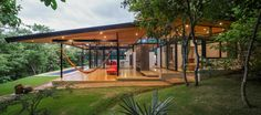 House located at the edge of a touristic coastal town in Tamarindo beach surrounded by the forest - CAANdesign | Architecture and home design blog