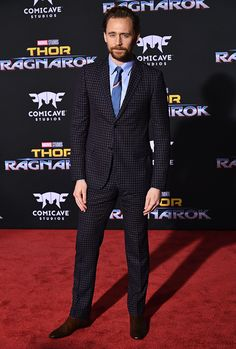 Tom Hiddleston Thor: Ragnarok Premiere