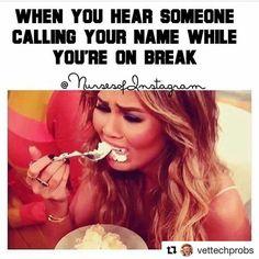 Nurses like: What's a full break? - Nursing Meme - Nurses like: What's a full break? The post Nurses like: What's a full break? appeared first on Gag Dad. Work Memes, Work Quotes, Work Humor, Nurse Jokes, Nursing Memes, Funny Nursing, Nursing Quotes, Nursing Tips, Retail Humor