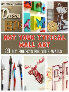 diy home sweet home: 23 Not Your Ordinary Home Decor