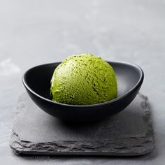 Green tea matcha ice cream scoop in bowl on a grey stone background. Copy space - Green tea matcha ice cream scoop in bowl on a grey stone background Matcha Ice Cream, Gelato Ice Cream, Mint Ice Cream, Matcha Green Tea Powder, Ice Cream Bowl, Strawberry Ice Cream, Ice Cream Scoop, Ice Cream Background, Chocolate Covered Coffee Beans