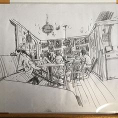Drawings still in the shop (and others in the post) wjc.bigcartel.com