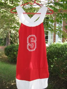 NC State Game Day Tshirt Dress