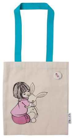 Belle and Boo book bag Birthday Hug, Bunny Room, Retail Bags, Belle And Boo, Diy Tote Bag, Tote Bags, Sweet Bags, Autumn Crafts, Paper Dolls
