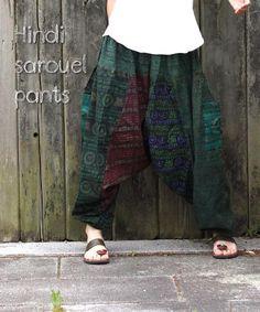ヒンディーサルエルパンツ【ユニセックス】 - エスニック・アジアンファッションの通販ショップMICALA