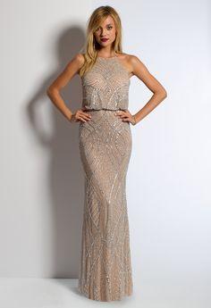 Beaded Blouson Dress from Camille La Vie