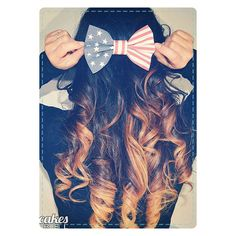 15 4th Of July Hairstyles For Littlegirls Teens 2014 Fourth Of July... ❤ liked on Polyvore featuring beauty products, haircare and hair styling tools