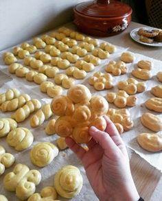 Greek Cookies, Biscuits, Easter, Breakfast, Food, Drop Cloths, Crack Crackers, Morning Coffee, Cookies