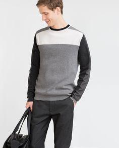STRUCTURED JERSEY TOP - View all - Knitwear - MAN | ZARA Belgium
