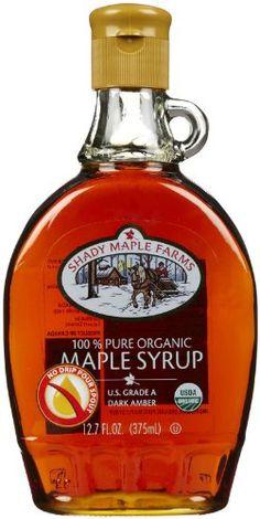 c1844575898 Shady Maple Farm Organic Grade A Dark Maple Syrup Glass