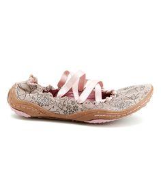 Rose Kettle Leather Ballet Flat - by Jambu