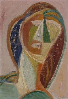 Storstein, Aage - Kvinnehode, 1940-tallet / Moderne, contemporary og eldre kunst / Kunsthandel - Blomqvist Kunsthandel