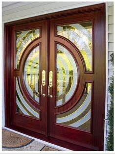 Rolling Door Hardware for Innovative Designs House Gate Design, Door Gate Design, Room Door Design, Main Door Design, Wooden Door Design, Custom Wood Doors, Wood Front Doors, Modern Entrance Door, Door Entryway