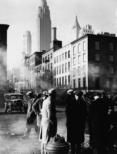 Fulton Street, New York, 1940, Andreas Feininger.