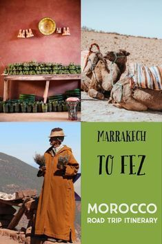 Want to know the best way to get from Marrakech to Fez? Take a Morocco road trip You can include some of the best things to see in Morocco, all three Atlas Mountains and the Sahara Desert. After all, camel trekking in the Sahara is one of the best things to do in Morocco. This is the Perfect Morocco Itinerary. #morocco #itinerary #roadtrip #marrakech #fez
