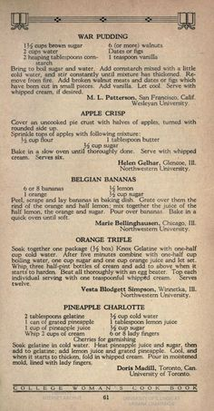 Fry's book of recipes : economical and simple : made with Fry's cocoa & chocolate Retro Recipes, Old Recipes, Vintage Recipes, Cookbook Recipes, Real Food Recipes, Baking Recipes, Cake Recipes, Dessert Recipes, Family Recipes