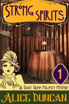 """Con artist and """"spiritualist"""" Daisy Gumm Majesty, a medium to the rich and famous, engages in a passionate battle of wits with Sam Rotondo, an infuriating detective who exposes her clever scam and blackmails her into spying on her wealthy employer, in a delightful romance sent in the 1920s."""