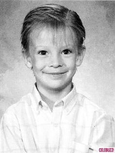 David Cook as little boy. I haven't seen this one before!