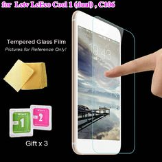 5pc Tempered Glass Screen Protector Film for Letv LeEco Coolpad Cool1 dual Cool 1 C106 Premium Screen Guard Cover Protective