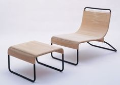 Lounge Chair and Ottoman, Hendrik Van Keppel 1946. Iconic VKG collection still produced by Brown Jordan.