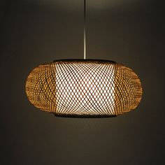 Free Shipping Chinese style rustic lantern bamboo rattan classical brief unique…