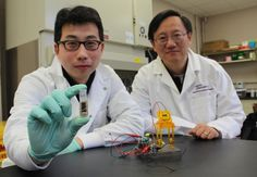 Environmentally friendly, energy-dense sugar battery developed to power the world's gadgets