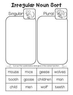 FREE+Irregular+Plural+Noun+Worksheet