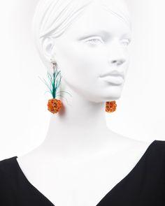 PINEAPPLE | cercei statement ananas Pineapple, Drop Earrings, Model, Jewelry, Fashion, Moda, Pinecone, Jewlery, Bijoux