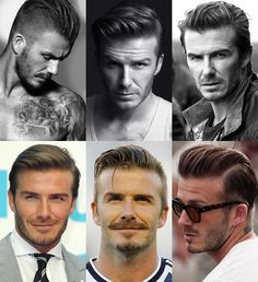 David Beckham Mature Hairstyles Lookbook