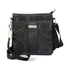 Cheap And Fashion Coach Swingpack In Signature Small Black Crossbody Bags CFW Are Here!