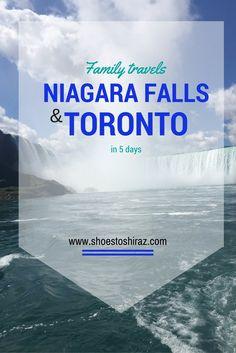 niagara falls and to