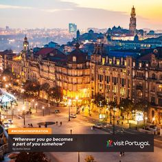 Avenida dos Aliados, Porto, Portugal