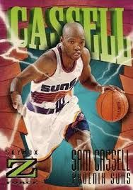 SKYBOX Z FORCE>>SAM CASSELL<<PHOENIX SUNS