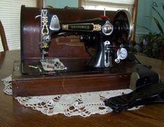 Brunswick vintage sewing machine.