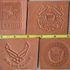 We can make you a custom Leather Embossing Die with any text font graphic or logo that can be used with a press These are low-cost hard plastic dies We Leather Embossing, Embossing Stamp, Leather Crafting, Text Fonts, Custom Leather, Business Ideas, Messages, Make It Yourself, Personalized Items