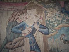 The Devonshire Hunting Tapestries are a group of four magnificent Flemish tapestries dating from the mid-fifteenth century.
