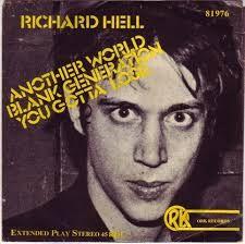 Richard Hell   @roughtrade  via @tonyplcc