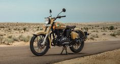 Royal Enfield has introduced a new special edition version in the Classic series. The company calls it Royal Enfield Classic 350 Signals Edition and it Royal Enfield Wallpapers, Bullet Bike Royal Enfield, Royal Enfield India, Royal Enfield Modified, Enfield Classic, Used Engines, Bike Photography, Ktm Duke, Classic Series