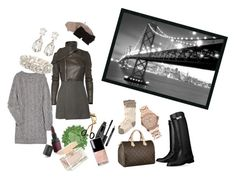 Midnight in San Francisco by pinkcrema on Polyvore featuring polyvore, moda, style, Rick Owens, D&G, Toast, Hermès, Louis Vuitton, Michael Kors, Balenciaga, Kenneth Jay Lane, Helene Berman, Urban Decay, Yves Saint Laurent, Dolce&Gabbana, Chanel, Sephora Collection and Amanti Art
