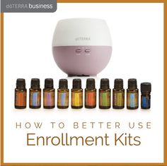 How to Better Use Enrollment Kits | dōTERRA Business Blog